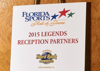 2015 Legends Reception