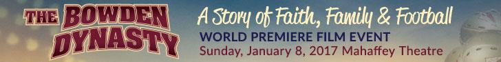 Bowden Dynasty Film Premiere Sunday Jan. 8, 2017